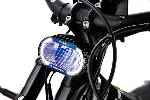 Lichtanlage des ELMOTO LOOP, ein E-Roller im Angebot des Fahrzeughaus Müller, ihrem Partner für E-Mobilität in Südthürigen